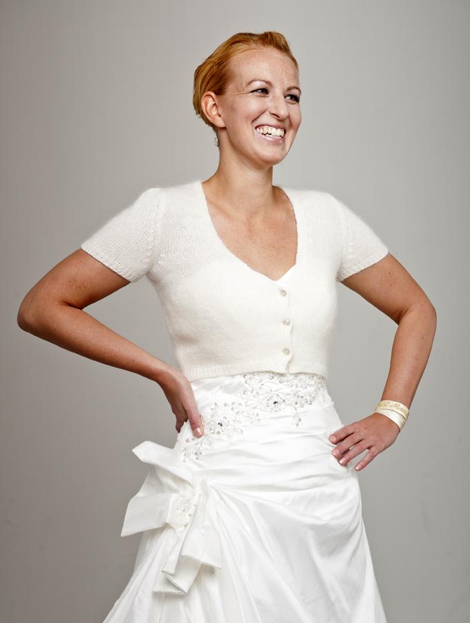 Modeshooting Strickmode, Accessoires und Hochzeitskleider für Bee Mohr