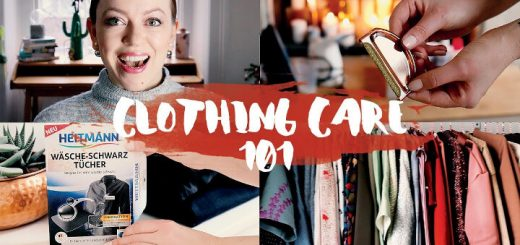 Wie man seine Kleidung richtig pflegt